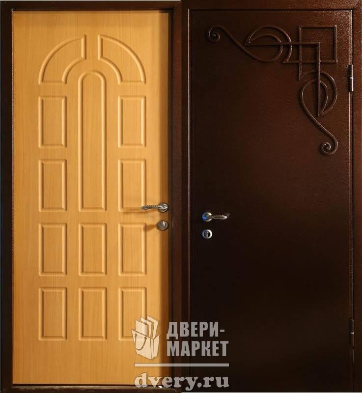 двери стальные с напылением и ковкой