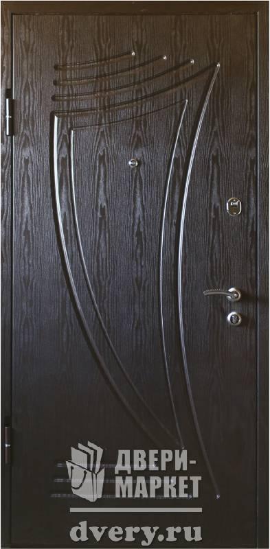 металлическая дверь россия мдф снаружи